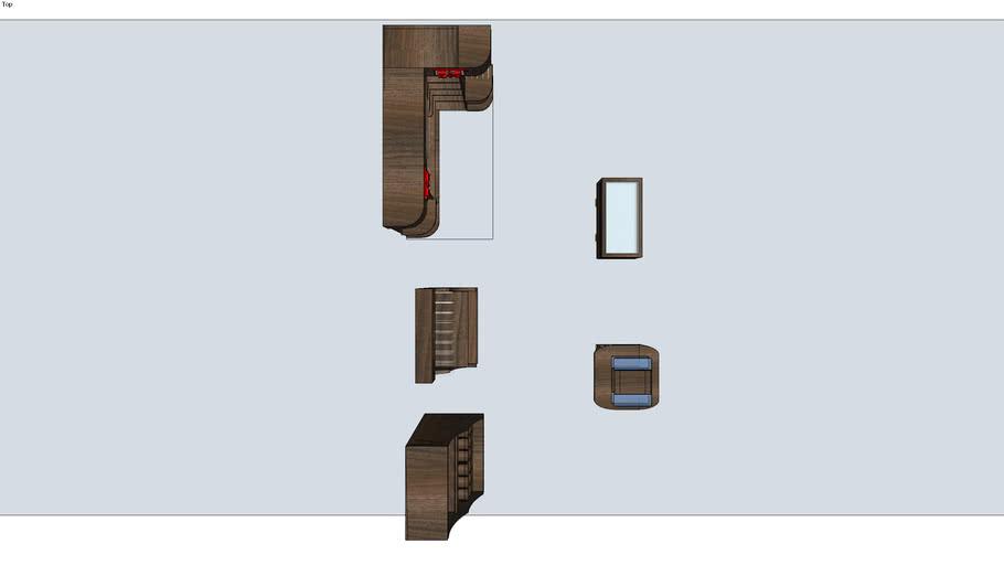 Art Bar - Quezon Ave (Wood Brown Modules)