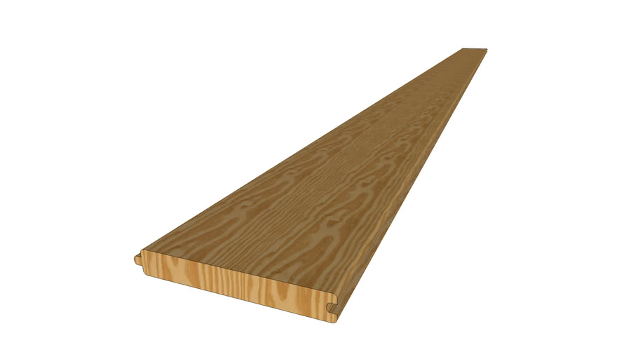 Southern Yellow Pine V-Joint Siding Board