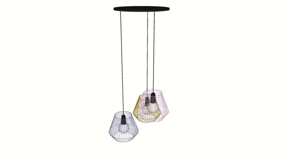 61920 Pendant Lamp Ischia Spiral Tre