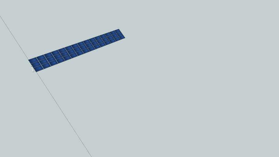 45 SW230 Solarworld Ground mount system