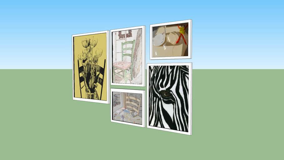 paintings, quadros, art, arte