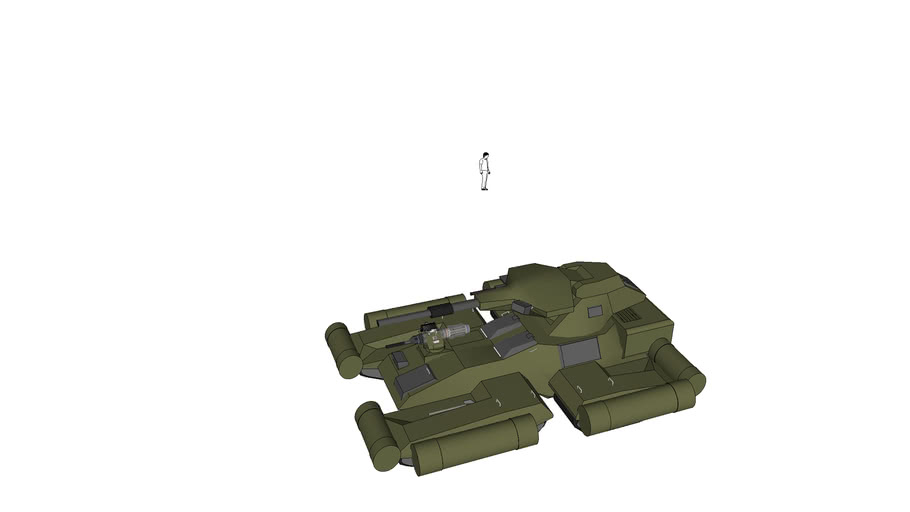 amphibious scorpion (prototipe)