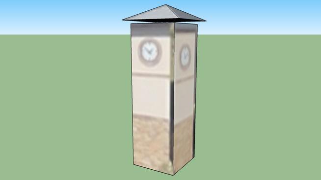 Clocktower of The Huntington