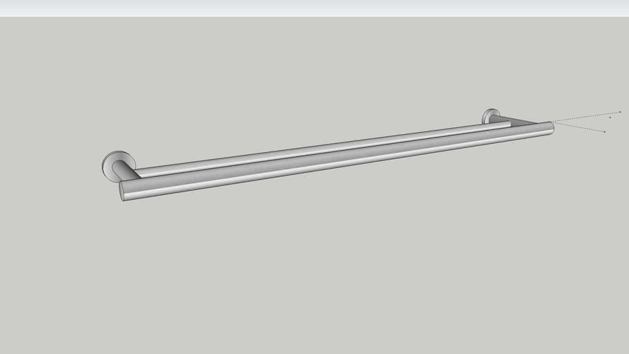 700mm Mizu Drift Double Towel Rail