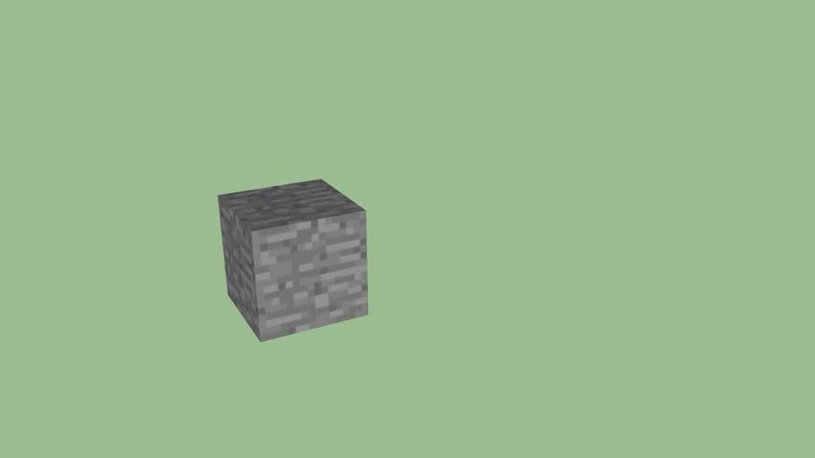 Minecraft Block - Stone