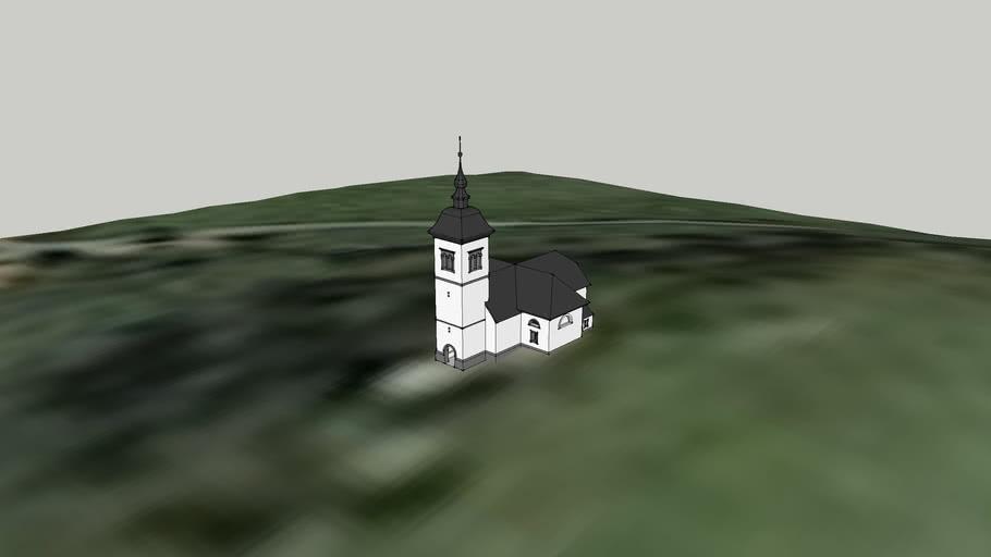 cerkev sv. Barbare na Ravniku