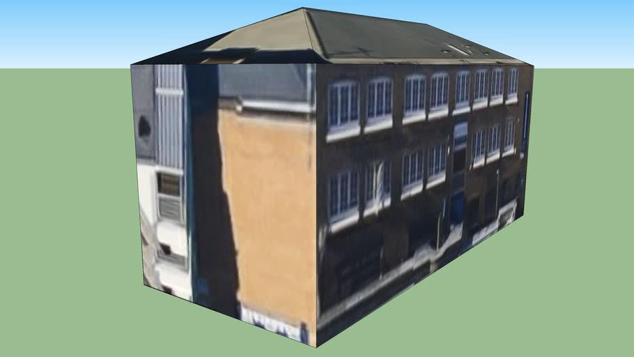 Building in Hackney, London EC1V 9DS, UK