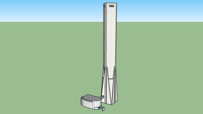 三菱電機稲沢製作所 エレベーター試験塔SOLAE'(ソラエ)