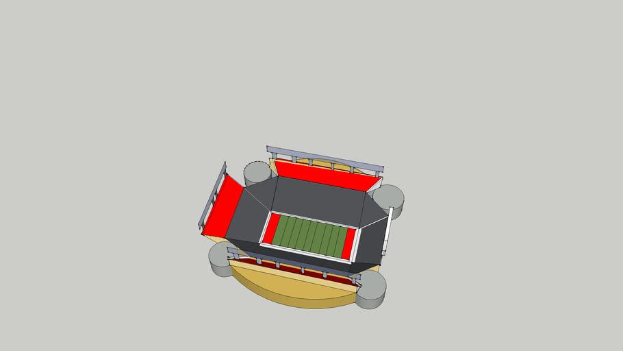 My first football stadium