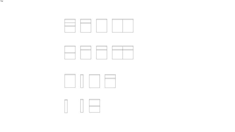 x-line 76,2 cm 2D