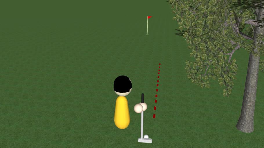 Wii Syle Golf*sketchyphysics* (version 2)