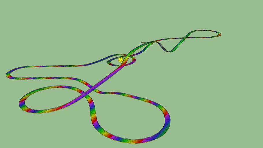 Rainbow Road Mario Kart 64 3d Warehouse