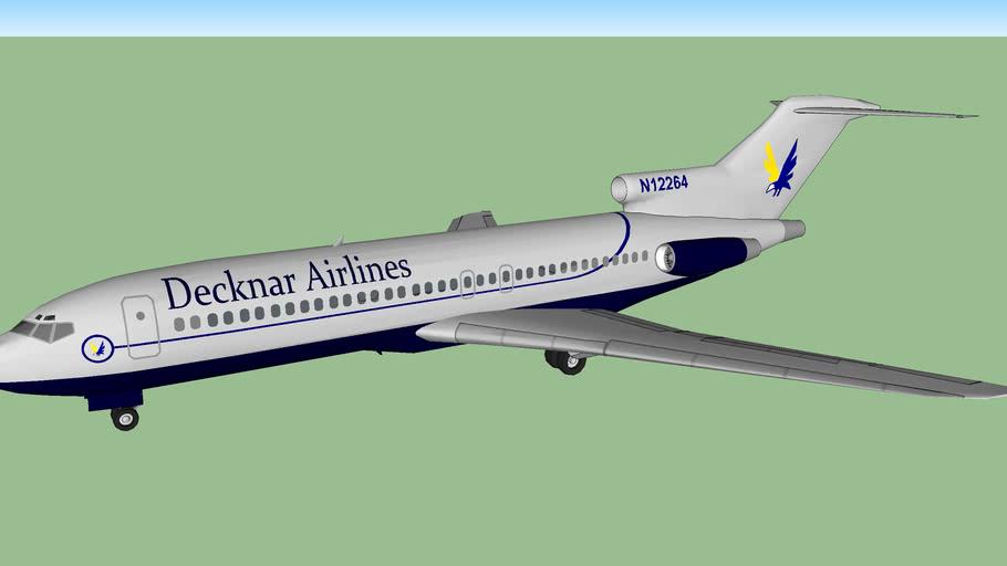Decknar Airlines Boeing 727-1D9 (1964-1974)