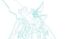 Gundam Layout Model