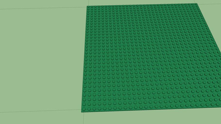 Lego 10 x 10 baseplate
