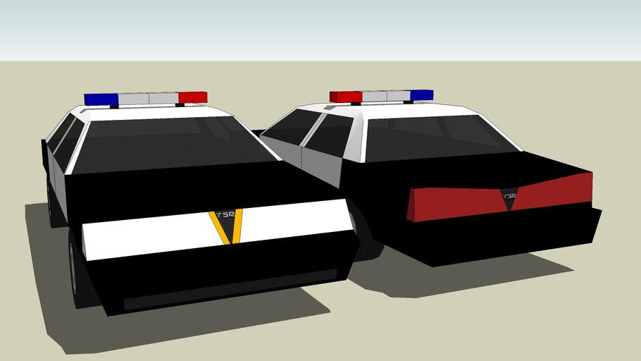 TSR Tuned Google Police Cars