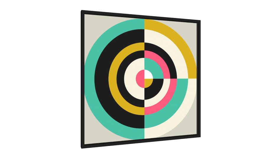 Quadro Target II - Galeria9, por Susana Paz