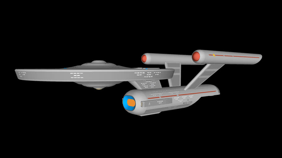 classic starship by CTL