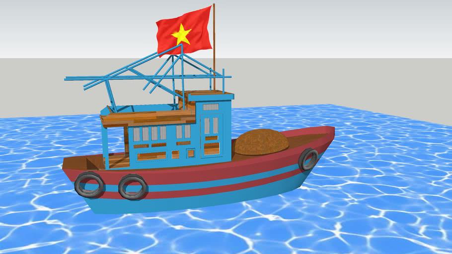 tàu cá Việt Nam - fishery boat