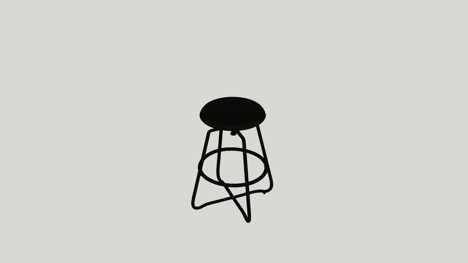Palethorp Adjustable Height Swivel Bar Stool