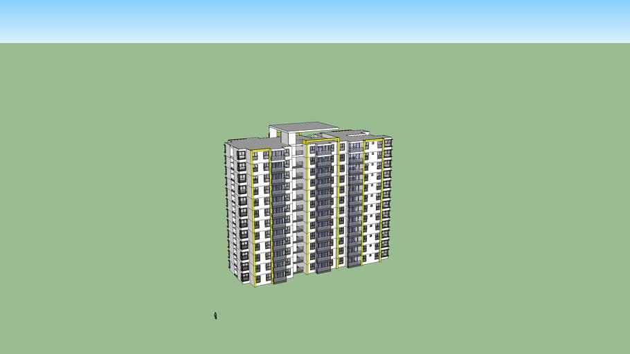 torre de apartamentos
