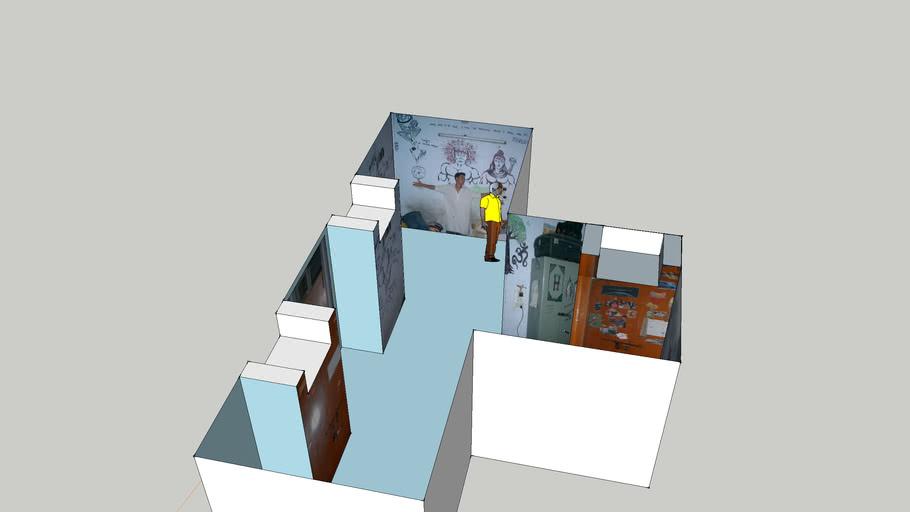 hostel room in MNIT,jaipiur (7/56)