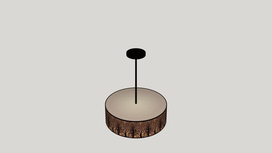 Coso 5 Light Drum Pendant
