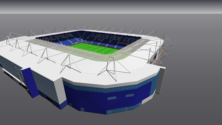 The King Power Stadium - Leicester City FC | 3D Warehouse