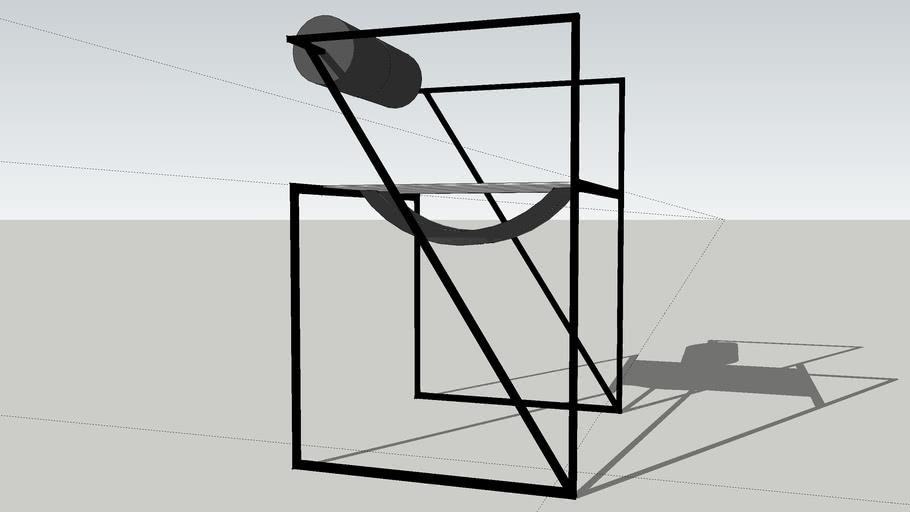 Seconda Chair by Mario Botta