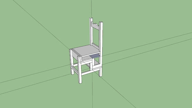 Chair converts to ladder