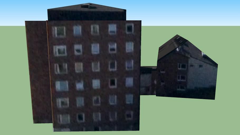 Byggnad på Solna, Sverige