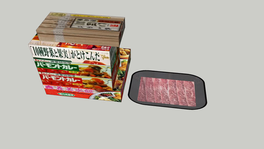 蕎麥麵   咖哩  水餃  澳洲牛肉    火鍋肉    Buckwheat noodles   Curry    Dumplings  Australian beef   Hot pot meat
