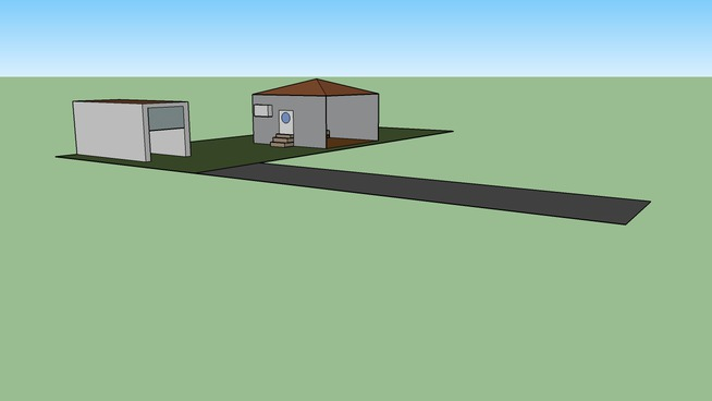 Small House + Garage