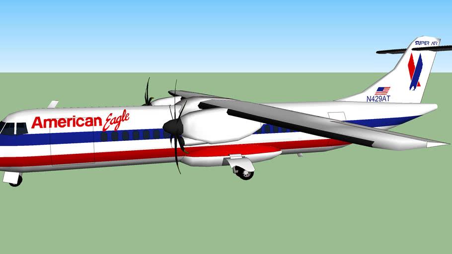 American Eagle ATR-72-212.