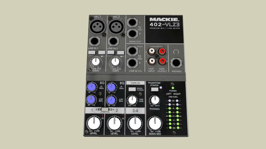 Mixer Mackie 402-VLZ3
