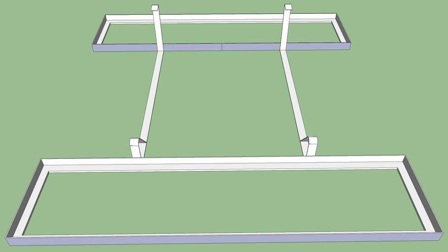 Unirac G10 Tray and Module Bracket