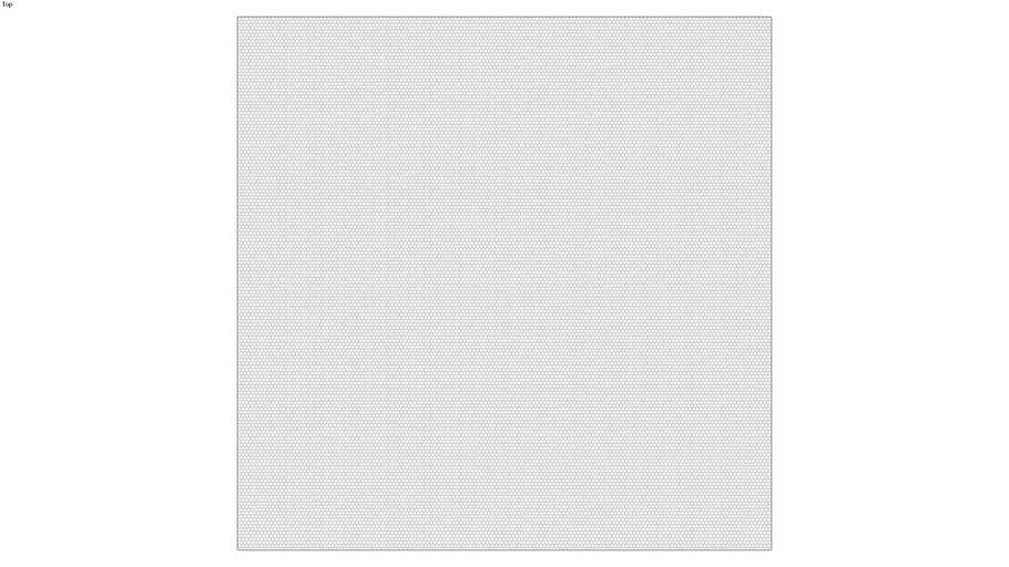 ROCKIT3D | Mesh Hexagon RAL7047