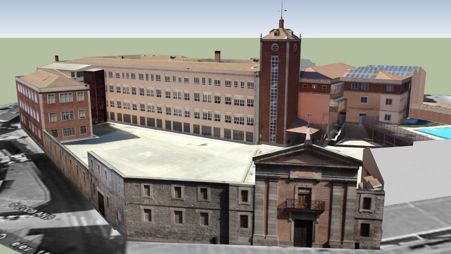 Colegio Diocesano. Ávila