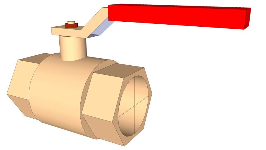 """3/4"""" shut off valve"""