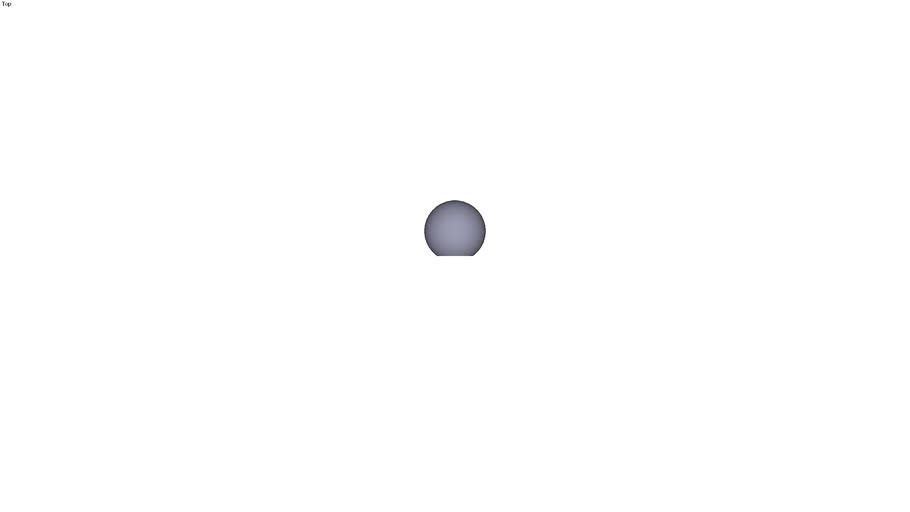 Ball knob form C - M10 ext. Ø 32 mm