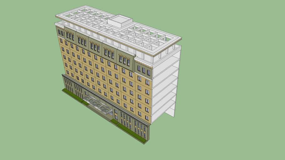 办公楼单体设计效果