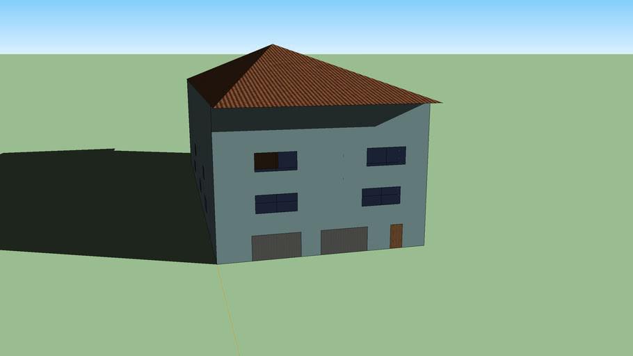 Basic and Simple 3 Floors house
