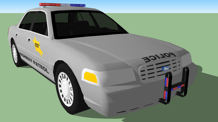 Grizzly State Highway Patrol Ford Crown Victoria