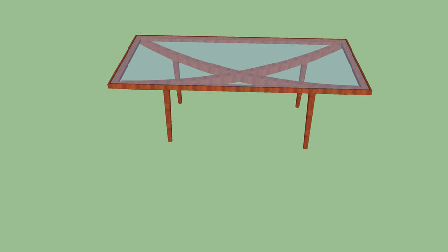 Mesa de jantar Istmo (retangular)