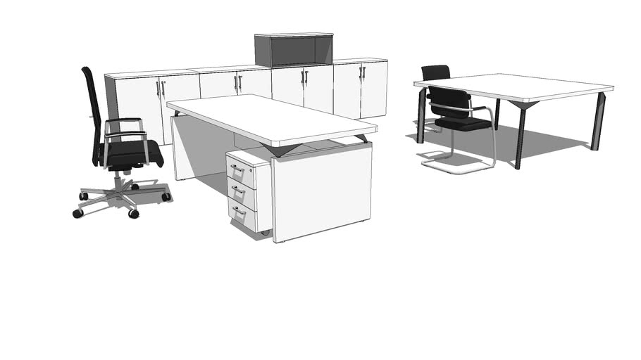 MECO desk composition taylor made 001 JOY LINE