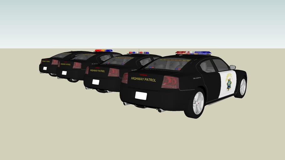 California Highway Patrol Charger Fleet