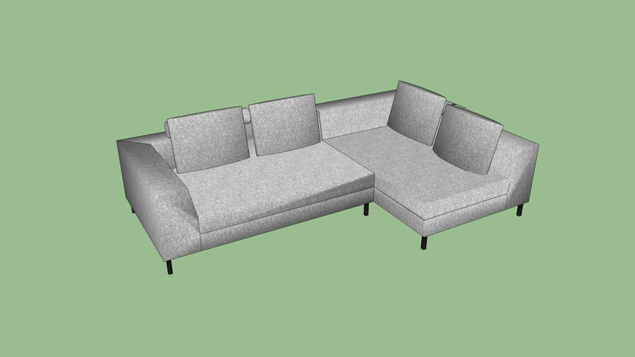 Sky sectional by Paul Tarolli for Scandesign