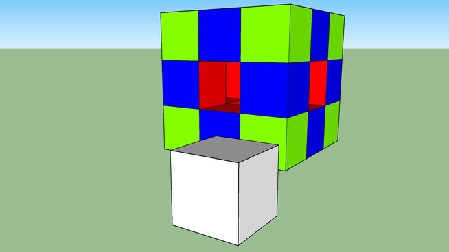 Edoardo - Cubo di Cubetti 1
