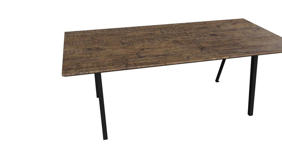 84301 Table Paradise 200x90cm