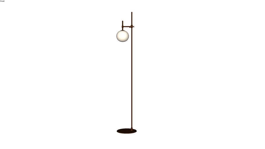 Floor lamp Maytoni Erich MOD221-FL-01-G, Торшер Maytoni Erich MOD221-FL-01-G